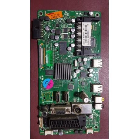 17MB80-1, 23036360, 10077146, LTA320HM04, VESTEL 32VF7011, MAIN BOARD (TVPMA0227B)
